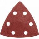 Papiery ścierne trójkątne kpl. 3 szt., gr. 40, 80, 120 do DED79456