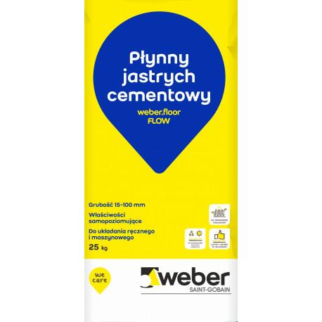 Samopoziomujący podkład podłogowy Weber.floor FLOW, 25 kg