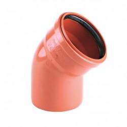 PVC Elbow 125/87°