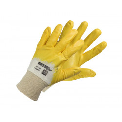 Nitrile-coated cotton gloves S-Light N