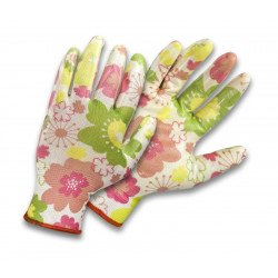 Nitryl-coated polyester gloves S-GARDEN