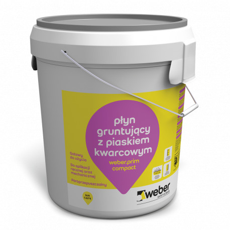 Plaster primer Weber.prim compact 20 kg