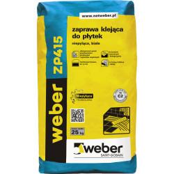 Klej do płytek WEBER ZP415, 25 kg