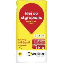 Klej do styropianu i siatki Weber UNI-S, 25 kg