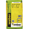 Cement rendering coat WEBER TP541, 25 kg