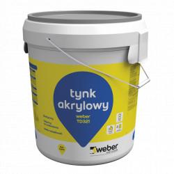 Acrylic Plaster WEBER TD 321, 30 kg