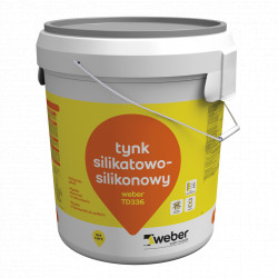 Silicone-silicate plaster Weber TD336, 30 kg