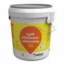 Silicone-silicate plaster Weber TD336, 30 kg