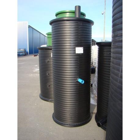 Abwasserpumpstation P60-80/2,1 mit Einphasen-Pumpe