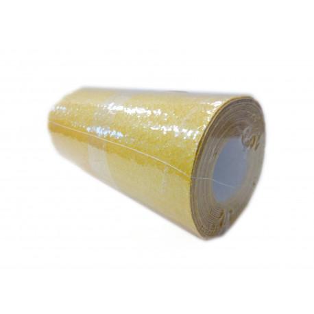 Papier ścierny żółty, rol. 180gr 115mmx3m