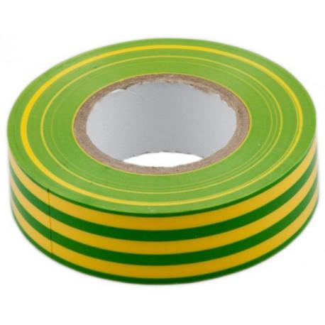 Taśma izolacyjna zielono-żółta 1 szt.