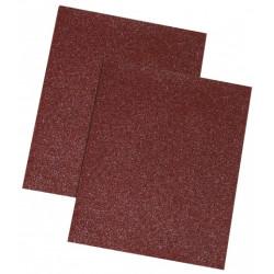 Brown sandpaper, 80 gr., Set 10 pcs.