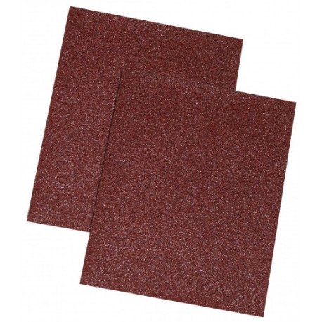 Papier ścierny brąz, 60 gr., kpl. 10 szt.