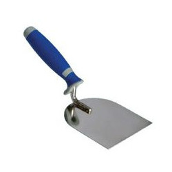 Plaster trowel 6 cm with a two-component handle