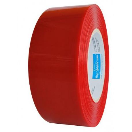 Taśma ochronna 4,8 cm x 50 m czerwona zewnętrzna