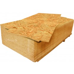 OSB - Oriented Strand Board 9x2500x1250 mm