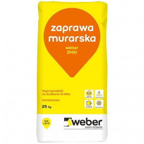Zaprawa murarska Weber ZM10 25 kg