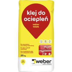 Resol Styrofoam, Polystyrene & XPS Adhesive Weber KS126, 25 kg