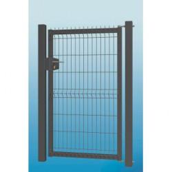 Wicket 3D 123x100 cm mit Säulen und Scharnieren, L