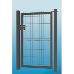 Wicket 3D 153x100 cm set with poles and hinges, R