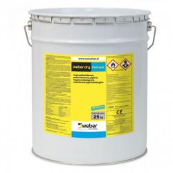 Weber.dry PUR seal 25 kg grey