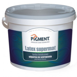Paint PIGMENT 10L LATEX SUPERMAT 12 m²/1L