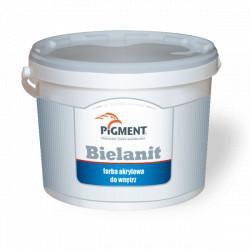 Farba PIGMENT BIELANIT 10L akrylowa biała