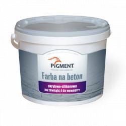 Farba PIGMENT na beton silikon-akryl 1L szara