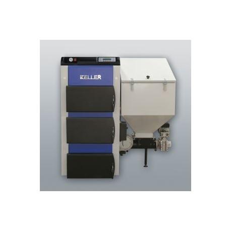 Kessel mit rechts Retorte EKO-KWP-15, 15kW