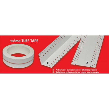 Taśma do płyt GK TUFF-TAPE 20 mb