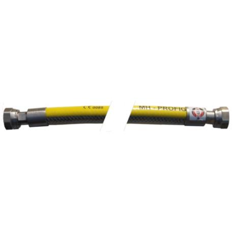 """Elastyczny przewód gazowy z dwoma nakrętkami obrotowymi ½"""" 50cm-200cm"""