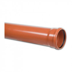 Rura PVC kan. 200x6,5x3 m SN12 LITA 20 szt./op