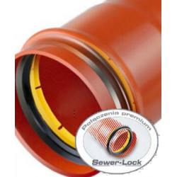 Rura PVC kanalizacyjna 200x5.9x3000 mm [LITA] (S) SN8