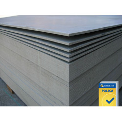 Cement-chipboard 10 mm 0,8x1,25 m