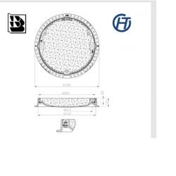 Właz kan DO 600 żel H100 Hydro-Top szczelny