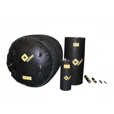 Korek uszczelniający 170 do 200 cm, typ RDK 170/200 0,5 bar