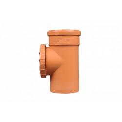 Rewizja PVC-U kanalizacyjna 160 nakręcana