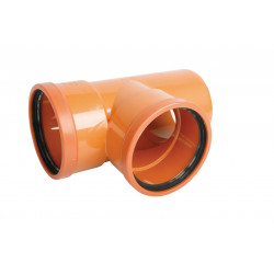Trójnik PVC-U kanalizacyjny 200x200/87˚