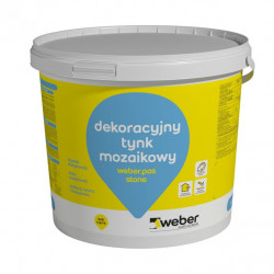 Tynk WEBER pas stone 25 kg - Hematyt kolor H1