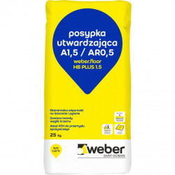 Posypka utwardzająca Weber.floor HB PLUS 1,5 - 25 kg