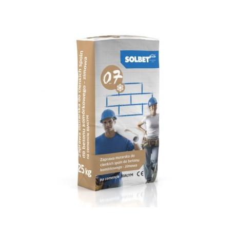 Wintermörtel für Porenbeton und Kalksandstein 25 kg